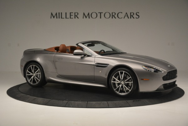 Used 2015 Aston Martin V8 Vantage Roadster for sale Sold at Alfa Romeo of Greenwich in Greenwich CT 06830 10