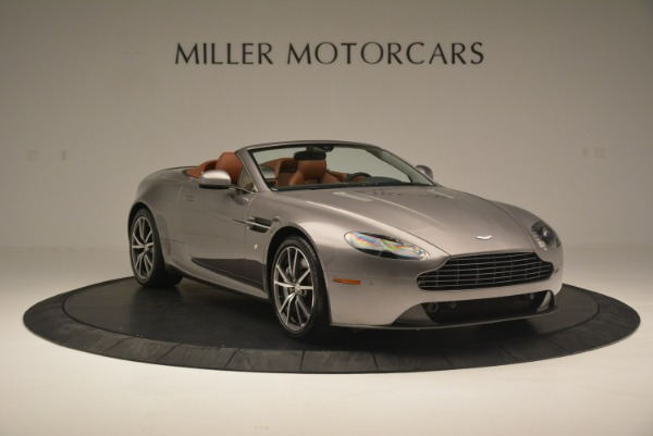 Used 2015 Aston Martin V8 Vantage Roadster for sale Sold at Alfa Romeo of Greenwich in Greenwich CT 06830 11