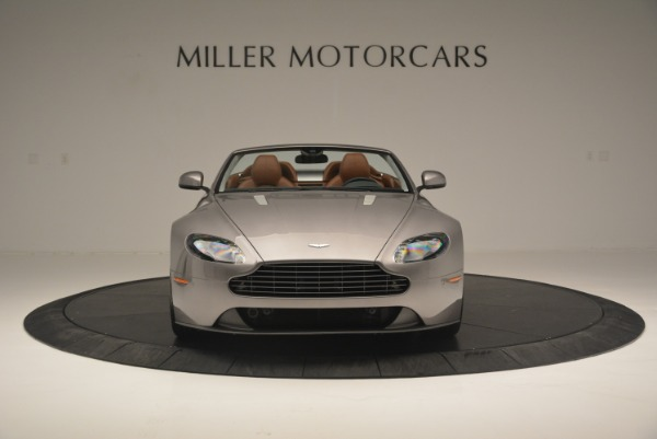 Used 2015 Aston Martin V8 Vantage Roadster for sale Sold at Alfa Romeo of Greenwich in Greenwich CT 06830 12