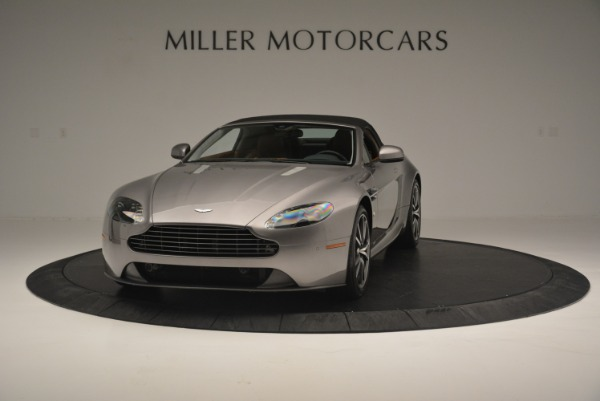Used 2015 Aston Martin V8 Vantage Roadster for sale Sold at Alfa Romeo of Greenwich in Greenwich CT 06830 13