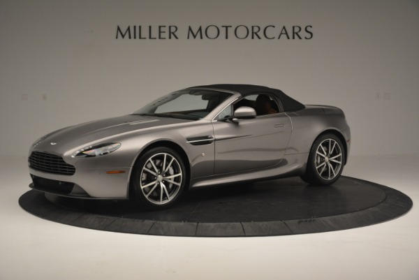 Used 2015 Aston Martin V8 Vantage Roadster for sale Sold at Alfa Romeo of Greenwich in Greenwich CT 06830 14
