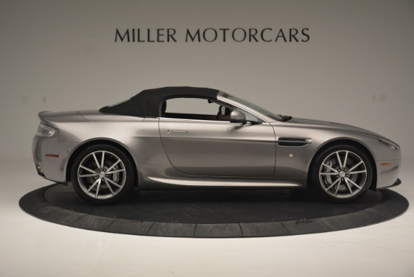 Used 2015 Aston Martin V8 Vantage Roadster for sale Sold at Alfa Romeo of Greenwich in Greenwich CT 06830 16
