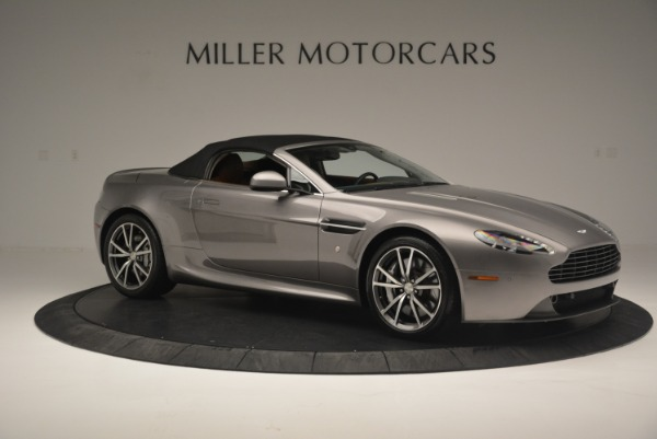 Used 2015 Aston Martin V8 Vantage Roadster for sale Sold at Alfa Romeo of Greenwich in Greenwich CT 06830 17
