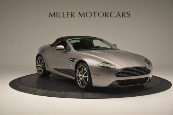 Used 2015 Aston Martin V8 Vantage Roadster for sale Sold at Alfa Romeo of Greenwich in Greenwich CT 06830 18
