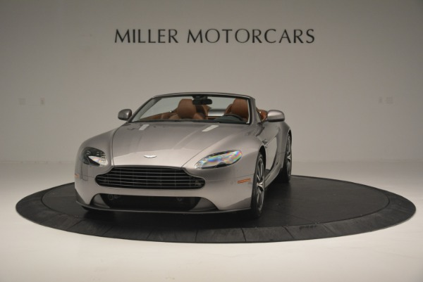 Used 2015 Aston Martin V8 Vantage Roadster for sale Sold at Alfa Romeo of Greenwich in Greenwich CT 06830 2