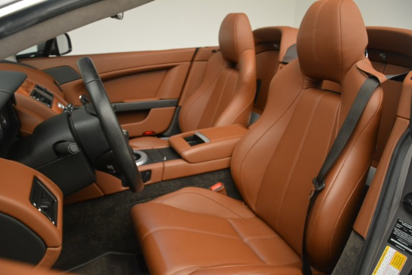 Used 2015 Aston Martin V8 Vantage Roadster for sale Sold at Alfa Romeo of Greenwich in Greenwich CT 06830 21
