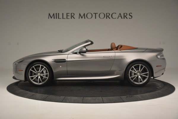 Used 2015 Aston Martin V8 Vantage Roadster for sale Sold at Alfa Romeo of Greenwich in Greenwich CT 06830 3