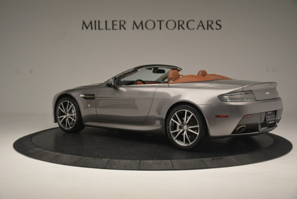 Used 2015 Aston Martin V8 Vantage Roadster for sale Sold at Alfa Romeo of Greenwich in Greenwich CT 06830 4