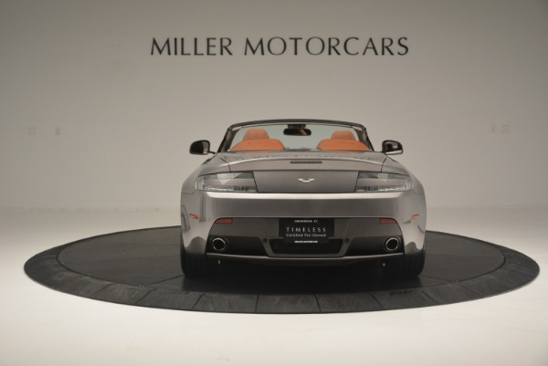Used 2015 Aston Martin V8 Vantage Roadster for sale Sold at Alfa Romeo of Greenwich in Greenwich CT 06830 6