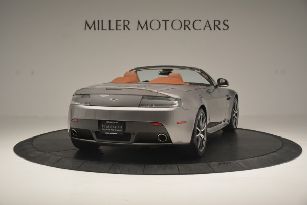 Used 2015 Aston Martin V8 Vantage Roadster for sale Sold at Alfa Romeo of Greenwich in Greenwich CT 06830 7
