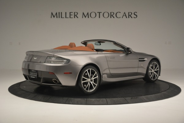 Used 2015 Aston Martin V8 Vantage Roadster for sale Sold at Alfa Romeo of Greenwich in Greenwich CT 06830 8