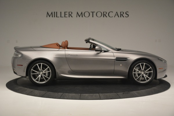 Used 2015 Aston Martin V8 Vantage Roadster for sale Sold at Alfa Romeo of Greenwich in Greenwich CT 06830 9