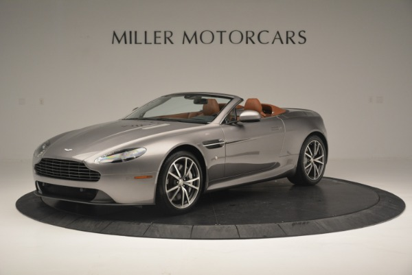 Used 2015 Aston Martin V8 Vantage Roadster for sale Sold at Alfa Romeo of Greenwich in Greenwich CT 06830 1