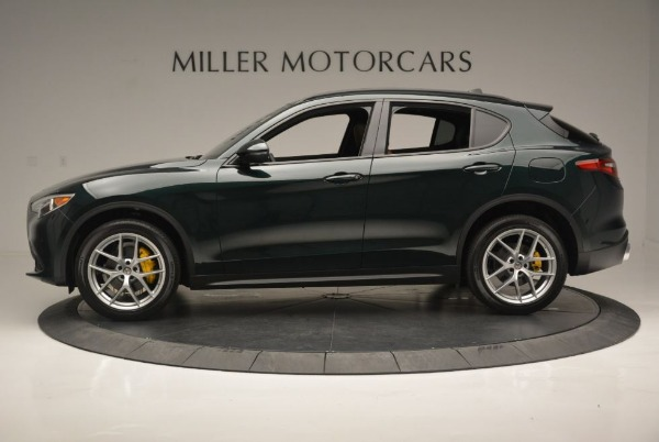 New 2018 Alfa Romeo Stelvio Ti Sport Q4 for sale Sold at Alfa Romeo of Greenwich in Greenwich CT 06830 4