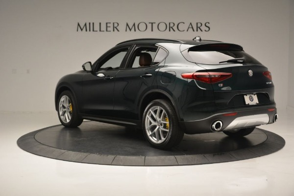 New 2018 Alfa Romeo Stelvio Ti Sport Q4 for sale Sold at Alfa Romeo of Greenwich in Greenwich CT 06830 6