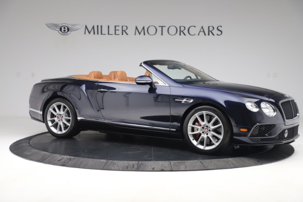 Used 2016 Bentley Continental GTC V8 S for sale Sold at Alfa Romeo of Greenwich in Greenwich CT 06830 10