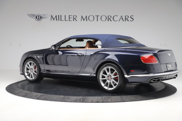Used 2016 Bentley Continental GTC V8 S for sale Sold at Alfa Romeo of Greenwich in Greenwich CT 06830 15