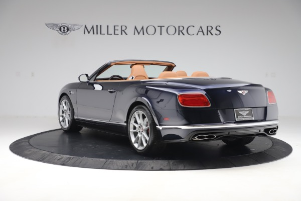 Used 2016 Bentley Continental GTC V8 S for sale Sold at Alfa Romeo of Greenwich in Greenwich CT 06830 5