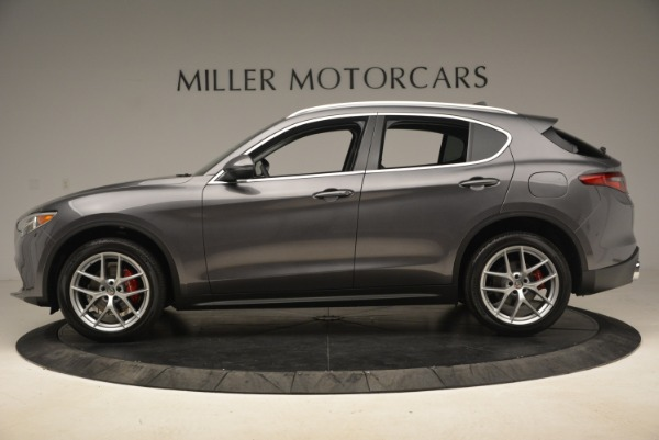 New 2018 Alfa Romeo Stelvio Ti Q4 for sale Sold at Alfa Romeo of Greenwich in Greenwich CT 06830 3