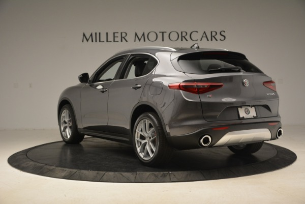 New 2018 Alfa Romeo Stelvio Ti Q4 for sale Sold at Alfa Romeo of Greenwich in Greenwich CT 06830 5