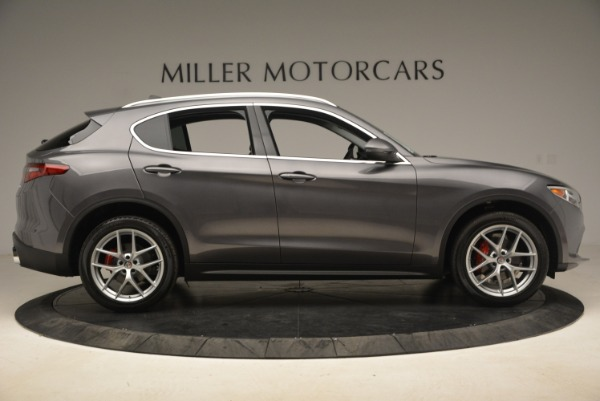 New 2018 Alfa Romeo Stelvio Ti Q4 for sale Sold at Alfa Romeo of Greenwich in Greenwich CT 06830 9