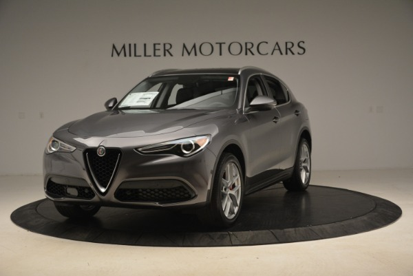 New 2018 Alfa Romeo Stelvio Ti Q4 for sale Sold at Alfa Romeo of Greenwich in Greenwich CT 06830 1