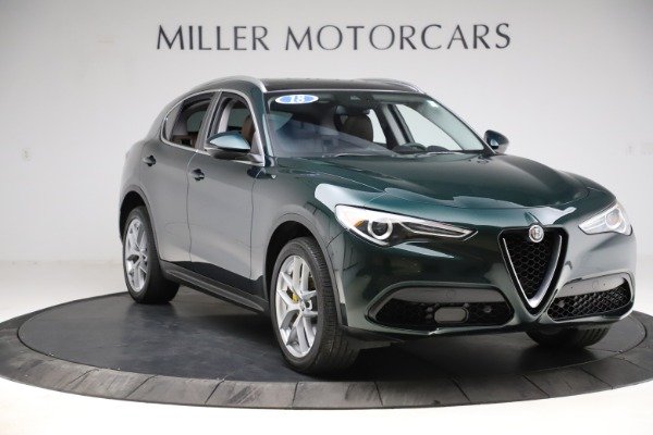 Used 2018 Alfa Romeo Stelvio Ti Q4 for sale $32,900 at Alfa Romeo of Greenwich in Greenwich CT 06830 11