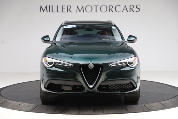 Used 2018 Alfa Romeo Stelvio Ti Q4 for sale $32,900 at Alfa Romeo of Greenwich in Greenwich CT 06830 12
