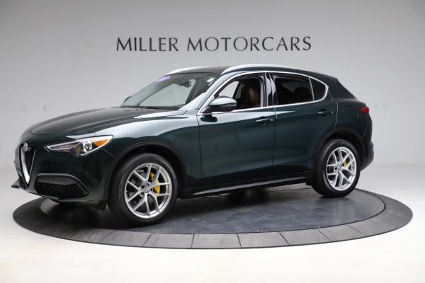 Used 2018 Alfa Romeo Stelvio Ti Q4 for sale $32,900 at Alfa Romeo of Greenwich in Greenwich CT 06830 2