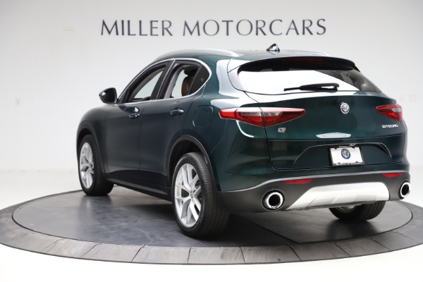 Used 2018 Alfa Romeo Stelvio Ti Q4 for sale $32,900 at Alfa Romeo of Greenwich in Greenwich CT 06830 5