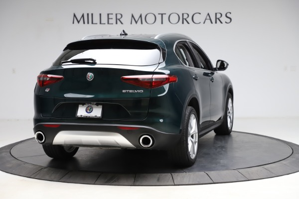 Used 2018 Alfa Romeo Stelvio Ti Q4 for sale $32,900 at Alfa Romeo of Greenwich in Greenwich CT 06830 7
