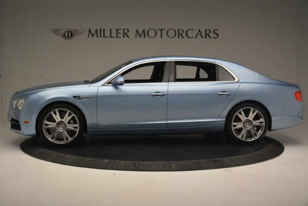 New 2018 Bentley Flying Spur V8 for sale Sold at Alfa Romeo of Greenwich in Greenwich CT 06830 3
