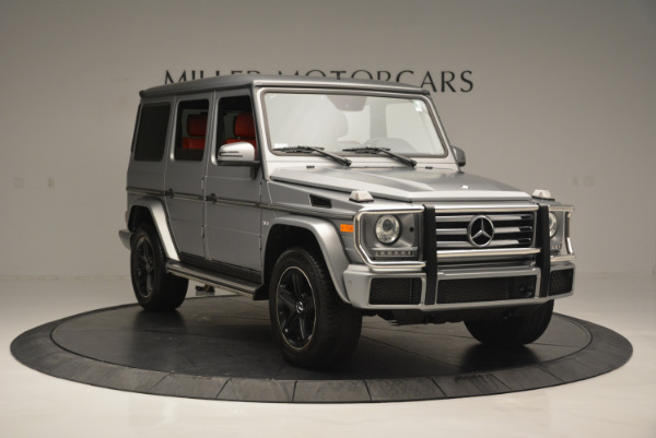Used 2016 Mercedes-Benz G-Class G 550 for sale Sold at Alfa Romeo of Greenwich in Greenwich CT 06830 11