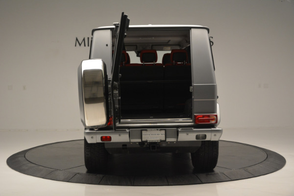 Used 2016 Mercedes-Benz G-Class G 550 for sale Sold at Alfa Romeo of Greenwich in Greenwich CT 06830 13