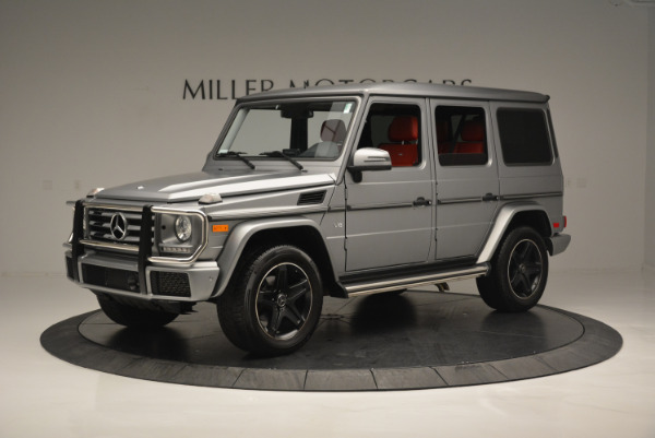 Used 2016 Mercedes-Benz G-Class G 550 for sale Sold at Alfa Romeo of Greenwich in Greenwich CT 06830 2