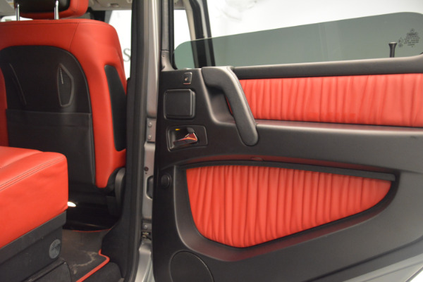 Used 2016 Mercedes-Benz G-Class G 550 for sale Sold at Alfa Romeo of Greenwich in Greenwich CT 06830 28