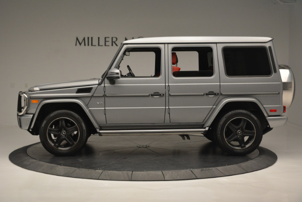 Used 2016 Mercedes-Benz G-Class G 550 for sale Sold at Alfa Romeo of Greenwich in Greenwich CT 06830 3