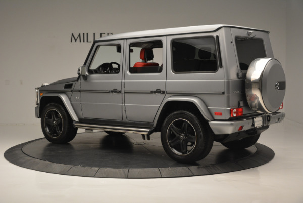 Used 2016 Mercedes-Benz G-Class G 550 for sale Sold at Alfa Romeo of Greenwich in Greenwich CT 06830 4
