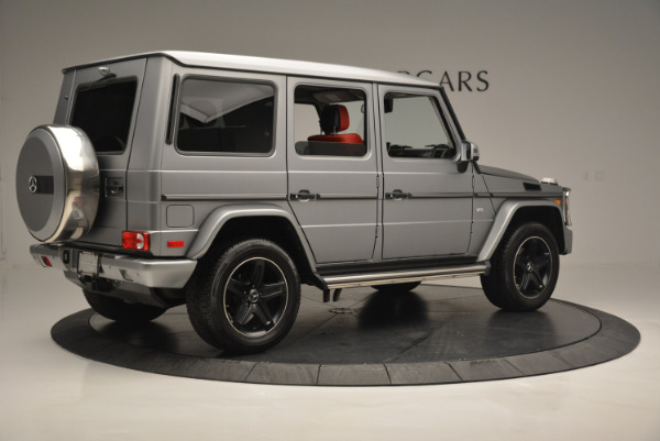 Used 2016 Mercedes-Benz G-Class G 550 for sale Sold at Alfa Romeo of Greenwich in Greenwich CT 06830 8