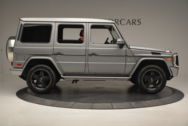 Used 2016 Mercedes-Benz G-Class G 550 for sale Sold at Alfa Romeo of Greenwich in Greenwich CT 06830 9