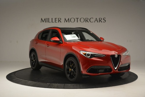 New 2018 Alfa Romeo Stelvio Ti Sport Q4 for sale Sold at Alfa Romeo of Greenwich in Greenwich CT 06830 11