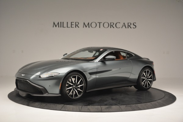 New 2019 Aston Martin Vantage Coupe for sale Sold at Alfa Romeo of Greenwich in Greenwich CT 06830 1