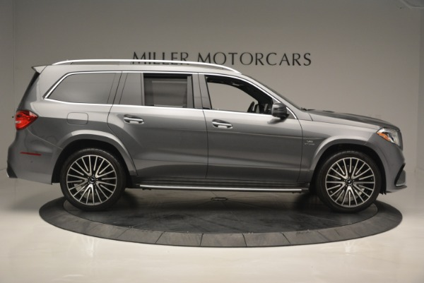 Used 2017 Mercedes-Benz GLS AMG GLS 63 for sale Sold at Alfa Romeo of Greenwich in Greenwich CT 06830 10