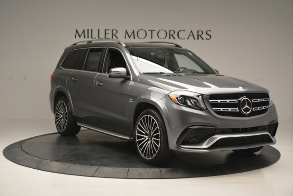Used 2017 Mercedes-Benz GLS AMG GLS 63 for sale Sold at Alfa Romeo of Greenwich in Greenwich CT 06830 13