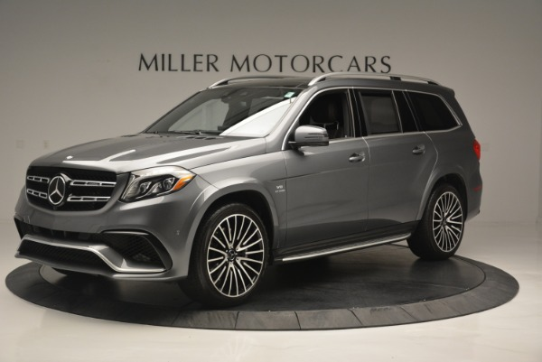 Used 2017 Mercedes-Benz GLS AMG GLS 63 for sale Sold at Alfa Romeo of Greenwich in Greenwich CT 06830 2