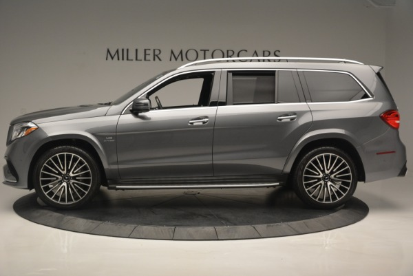 Used 2017 Mercedes-Benz GLS AMG GLS 63 for sale Sold at Alfa Romeo of Greenwich in Greenwich CT 06830 3