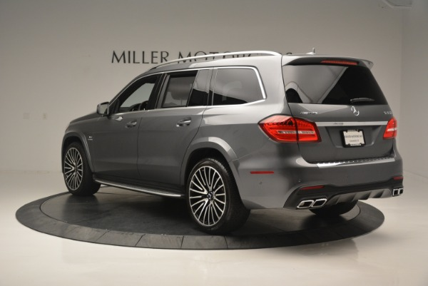 Used 2017 Mercedes-Benz GLS AMG GLS 63 for sale Sold at Alfa Romeo of Greenwich in Greenwich CT 06830 5