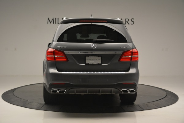 Used 2017 Mercedes-Benz GLS AMG GLS 63 for sale Sold at Alfa Romeo of Greenwich in Greenwich CT 06830 7