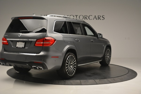 Used 2017 Mercedes-Benz GLS AMG GLS 63 for sale Sold at Alfa Romeo of Greenwich in Greenwich CT 06830 8