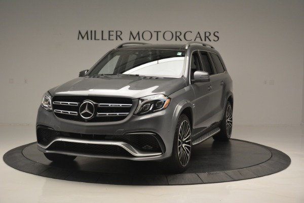 Used 2017 Mercedes-Benz GLS AMG GLS 63 for sale Sold at Alfa Romeo of Greenwich in Greenwich CT 06830 1